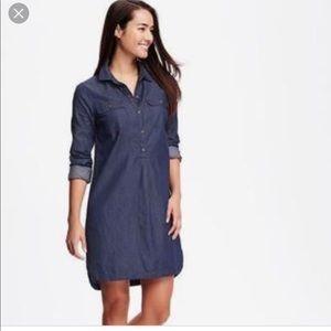 Old Navy Dark Denim Dress